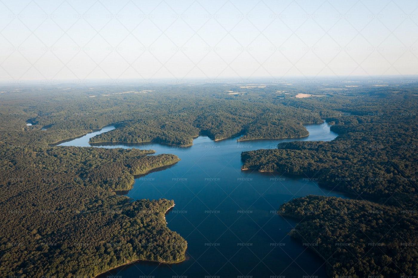 Lake And Land: Stock Photos