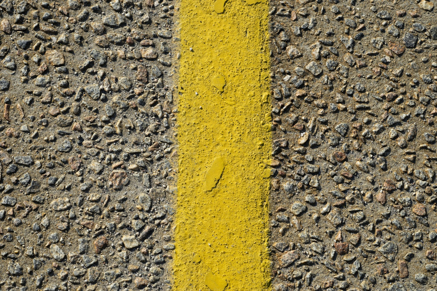 Yellow Paint On Concrete: Stock Photos