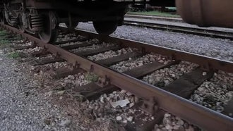 Railway track: Stock Video