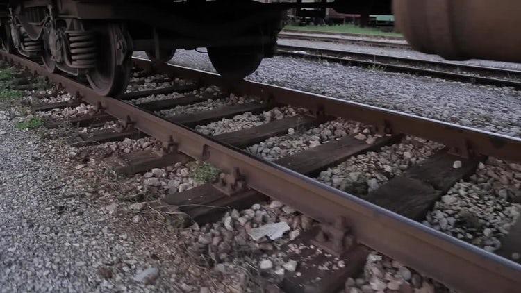Railway track: Stock Video