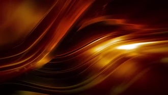 Fiery Surface Background: Motion Graphics