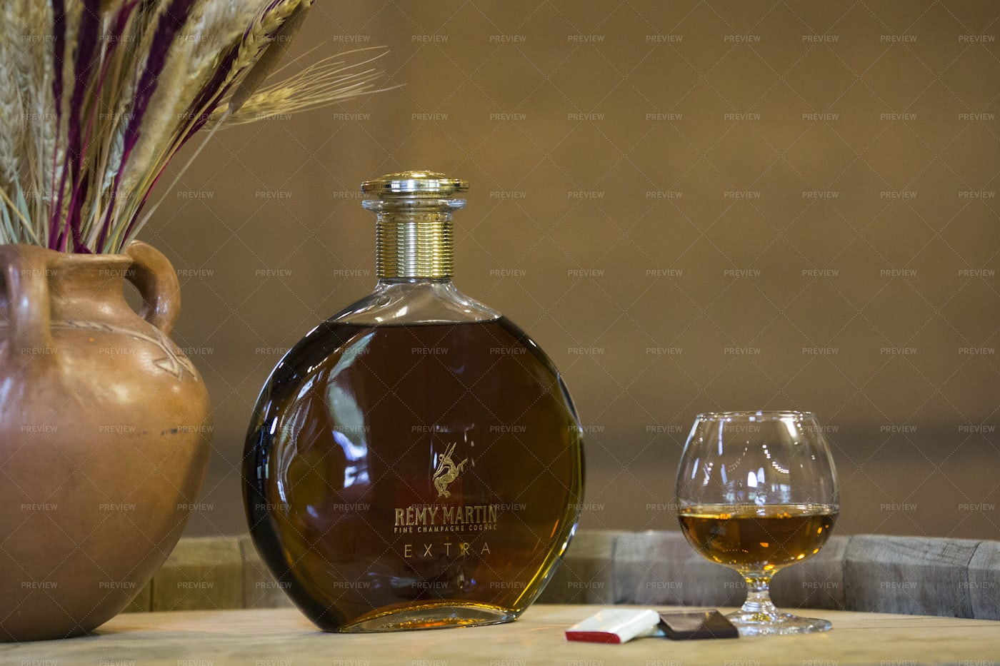 Bottle Of Remy Martin: Stock Photos