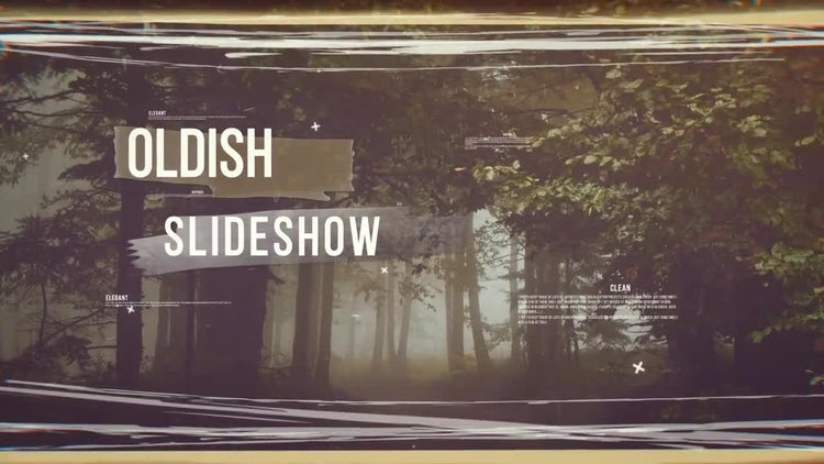 Oldish Slideshow: After Effects Templates