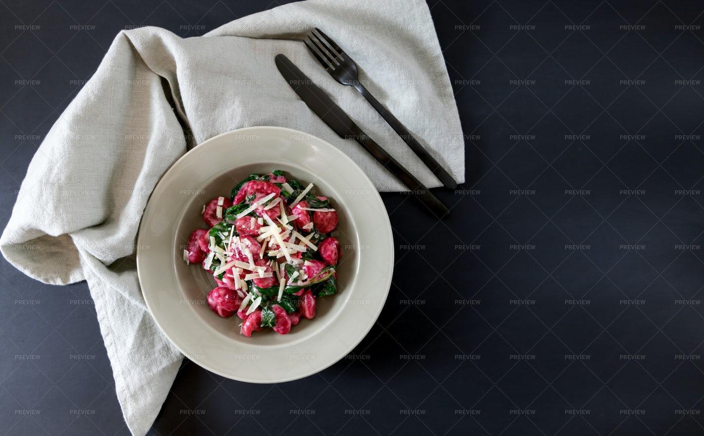 Gnocci Dish: Stock Photos