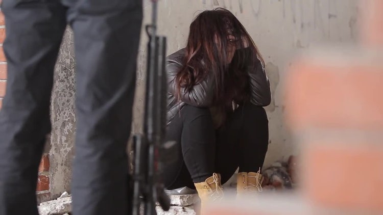 Violence Victim: Stock Video