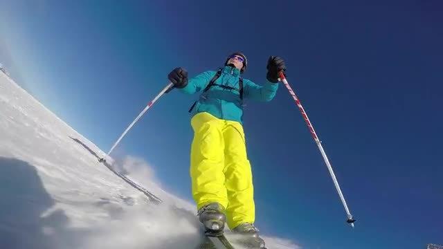 Skier: Stock Video