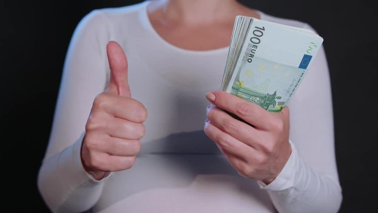 Thumb Up For Euro: Stock Video