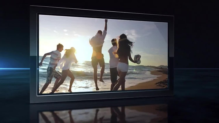 Dark Slideshow: After Effects Templates