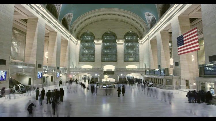 Grand Central Station New York: Stock Video