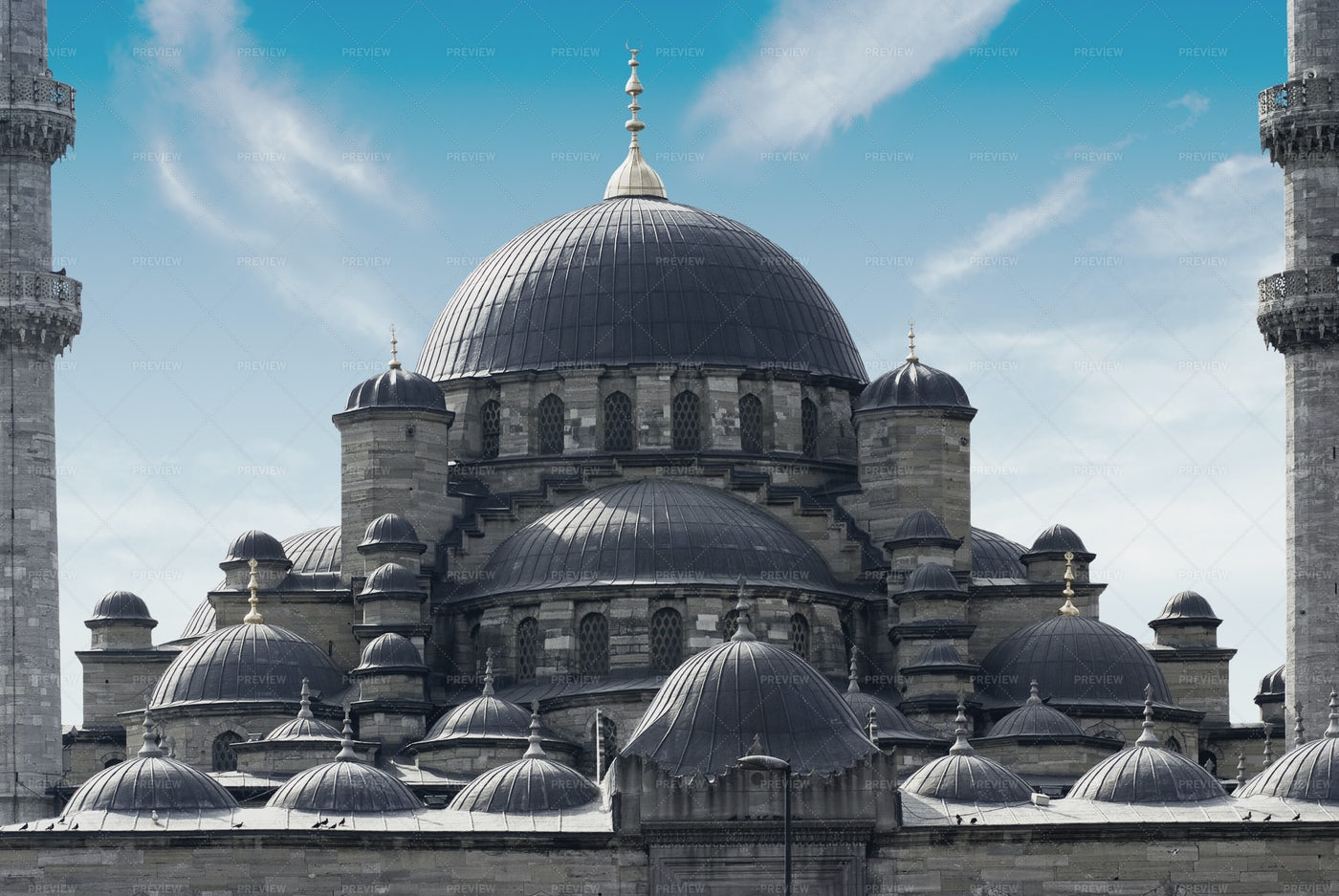Mosque In Istanbul: Stock Photos
