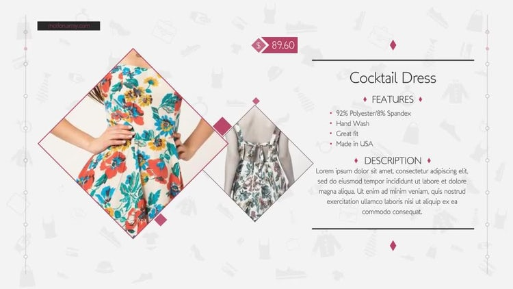 Fashion Shop: After Effects Templates