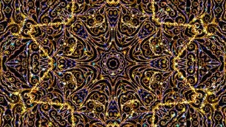 Kaleidoscope Ornament Background: Motion Graphics