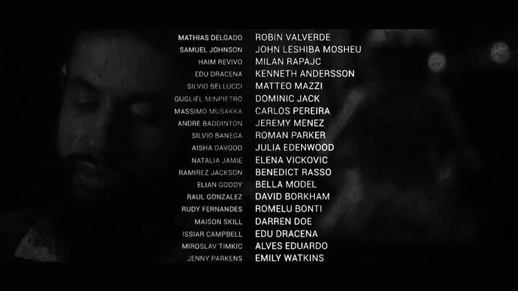 The Credits: After Effects Templates