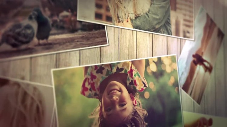 Slideshow Memory: After Effects Templates
