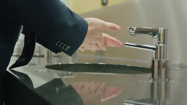 Man Washing Hands: Stock Video
