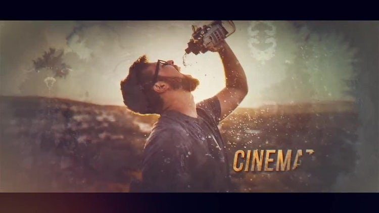 Ink Cinematic Opener: After Effects Templates