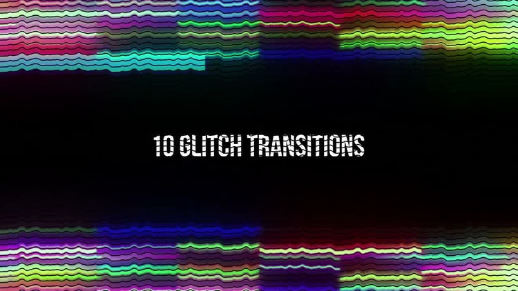 Glitch transitions motion graphics motion array for Motion graphics transitions