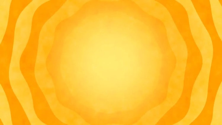 Abstract Sun Blazing Background: Motion Graphics
