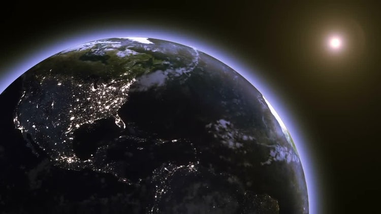 Earth From Space: Stock Motion Graphics