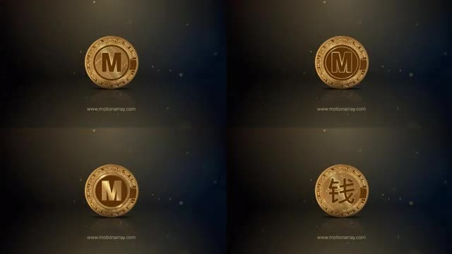 Bitcoin Logo Reveal: After Effects Templates