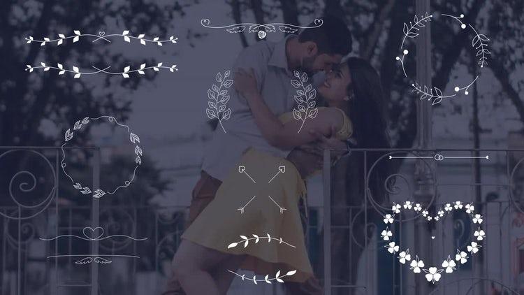 Wedding Elements - Borders Frames: Motion Graphics