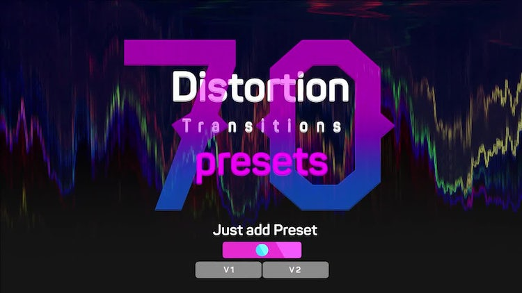 Distortion Transitions Presets 2: Premiere Pro Presets