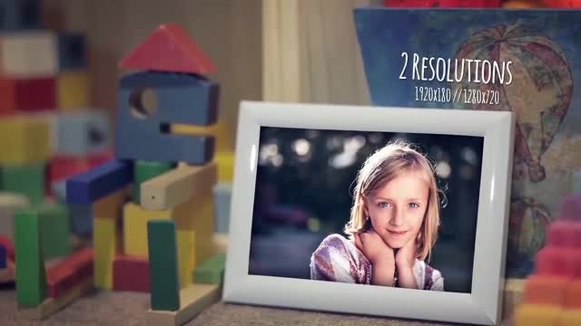 Children Photo Gallery: After Effects Templates