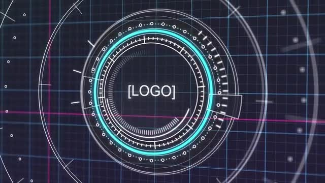 Futuristic HUD Interface Intro: After Effects Templates