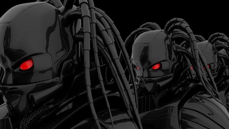 Cyborg Factory VJ Loop: Motion Graphics