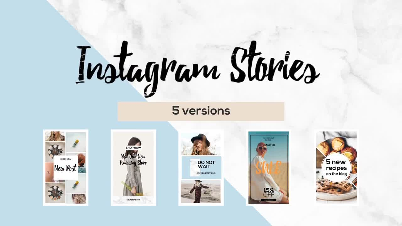 Instagram Stories - After Effects Templates | Motion Array