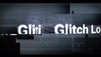 Glitch Logo Intro: After Effects Templates