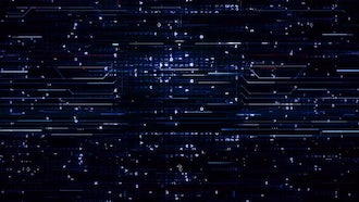 Digital Blue Hi-Tech Backgrounds: Motion Graphics