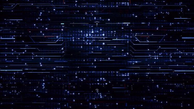 Digital Blue Hi-Tech Backgrounds: Stock Motion Graphics