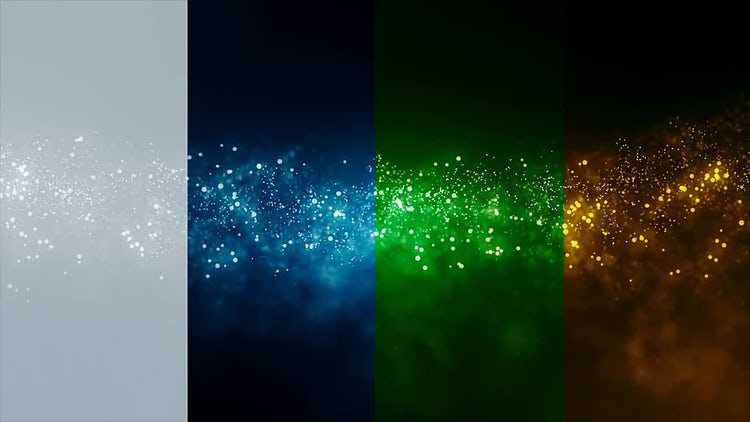 Cinematic Particles Backgrounds: Motion Graphics