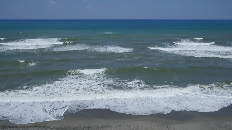 Ocean Surface Waves Aerial: Stock Video