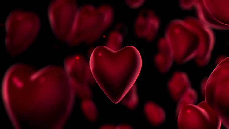 Be My Valentine Background Full HD Loop: Stock Motion Graphics