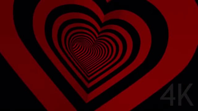 Heart Background Loop: Stock Motion Graphics