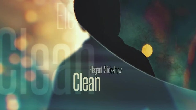Elegant & Clean Slideshow: After Effects Templates