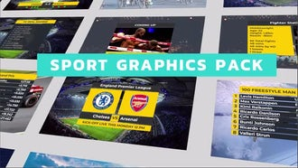 Sport Titles Graphics Pack: Premiere Pro Templates