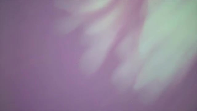 Slow Motion Purple Aqua Paint: Stock Video