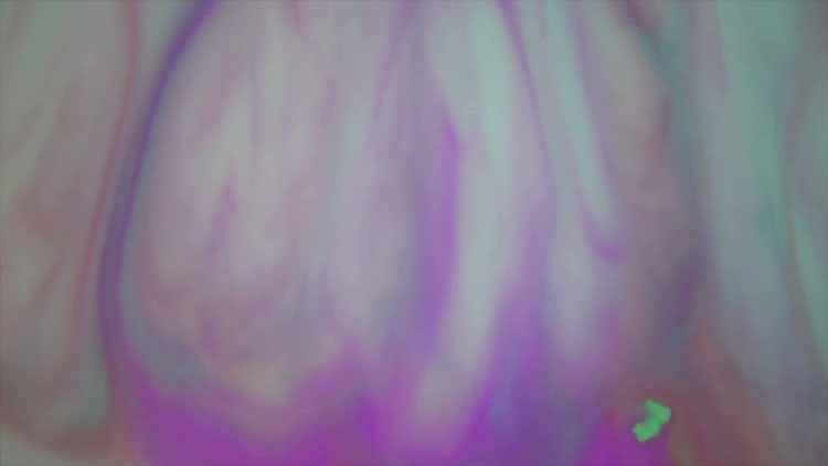 Purple Aqua Paint In Motion: Stock Video