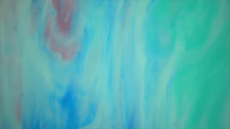 Aqua Marble Paint In Motion: Stock Video