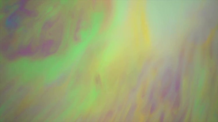 Neon Green Paint Marble: Stock Video