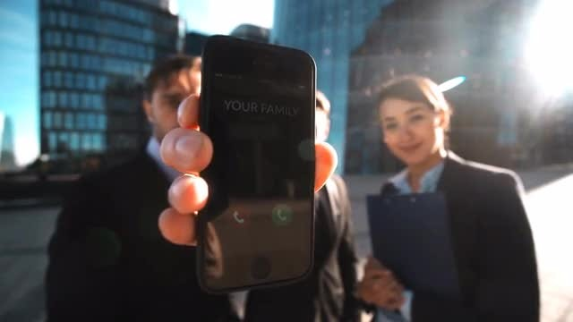 Please Answer Family's Call: Stock Video