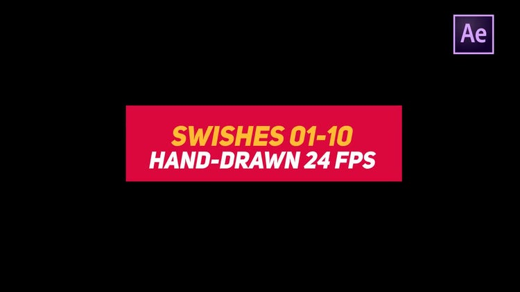 Liquid Elements Swishes 01-10: After Effects Templates