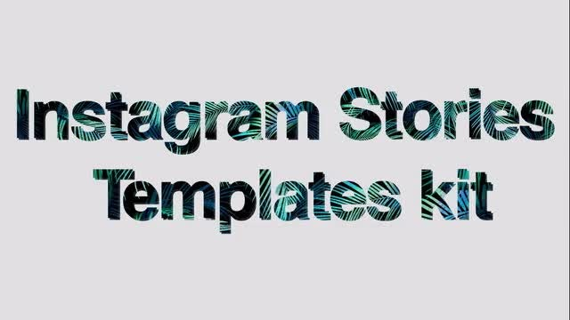 Instagram Stories Templates Kit: After Effects Templates