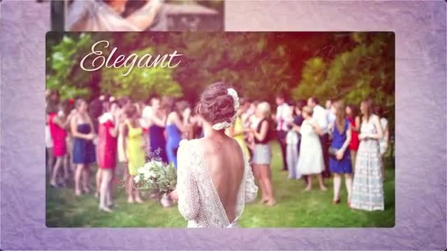 Wedding Slideshow: After Effects Templates