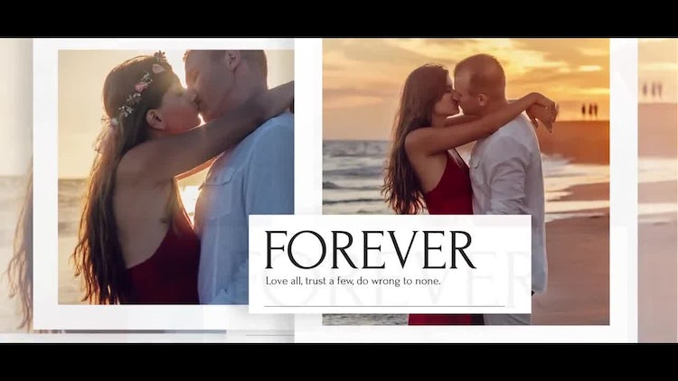 Cinematic - Clean Slideshow: After Effects Templates
