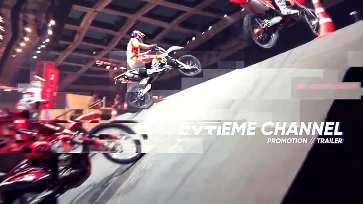 Extreme Sport Opener: After Effects Templates
