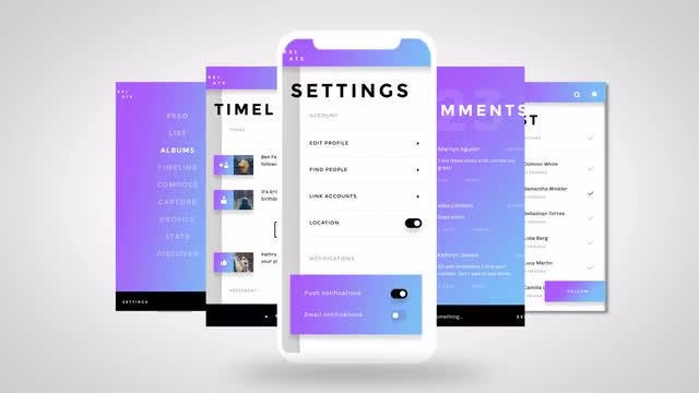 App Promo Presentation: After Effects Templates
